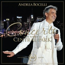 CD Concerto: One Night In Central Park (10th Anniversary) (CD+DVD)