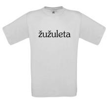 Tričko Žužuleta logo, Muž, Biela,
