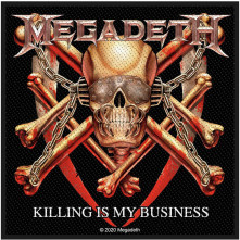 Nažehlovačka Killing Is My Business