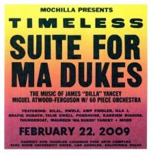Vinyl V/A - MOCHILLA PRESENTS TIMELESS: SUITE FOR MA DUKES