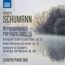 CD ECKERLE PIANO DUO - SCHUMANN ARRANGEMENTS FOR PIANO DUET, VOL. 6