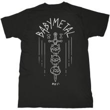 Tričko Skull Sword, Unisex, Čierna,