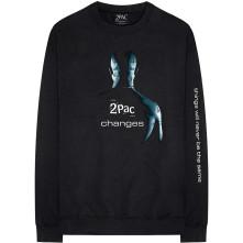 Tričko s dlhým rukávom Changes, Unisex, Čierna,