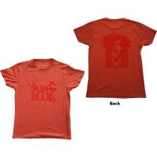 Tričko DEADHAPPY, Unisex, Červená,