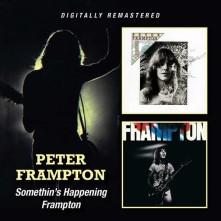 CD FRAMPTON, PETER - SOMETHIN'S HAPPENING/FRAMPTON