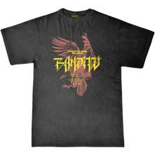 Tričko Bandito Bird, Unisex, Čierna,