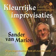 CD MARION, SANDER VAN - KLEURRIJKE IMPROVISATIES