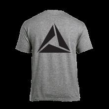 Tričko Logo Black print, Muž, Šedá,