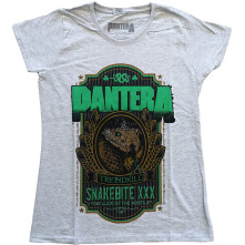 Tričko Snakebite XXX Label, Žena, Šedá,