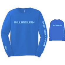 Tričko s dlhým rukávom Smile, Unisex, Modrá,