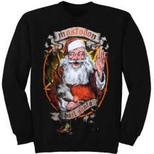 Crewneck Hail Santa Holiday, Unisex, Čierna,
