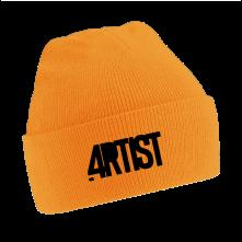 Čapica Artist, Unisex, Neónová oranžová, Univerzálna