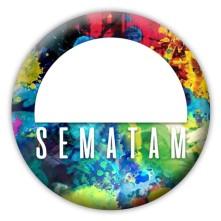 Odznak Sematam, Farebný