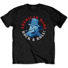 Tričko American Made, Unisex, Čierna,