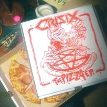 Vinyl CRISIX - PIZZA EP