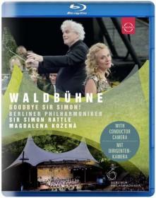 Blu-ray KOZENA/BERLINER PHILHARMONIKER/RATTLE - EUROARTS - BERLINER PHILHARMONIKER - WALDBUHNE 2018 - OPEN AIR BERLIN