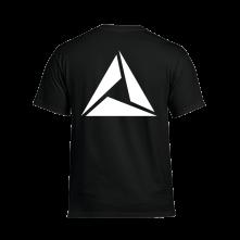 Tričko Logo White print, Muž, Čierna,