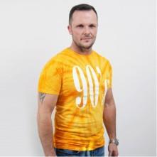 Tričko 90's Dye Tee, Muž, Žltá,