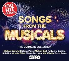 CD V/A - ULTIMATE MUSICALS