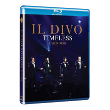 Blu-ray IL DIVO - TIMELESS LIVE IN JAPAN