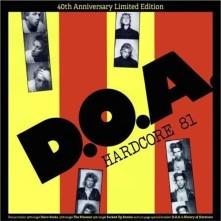 Vinyl D.O.A. - HARDCORE 81