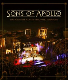 Blu-ray SONS OF APOLLO - Live With The Plovdiv Psychoti