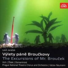 CD JANACEK LEOS  VYLETY PANE BROUCKOVY
