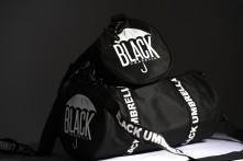 Taška Black Umbrella Mini Duffle Bag