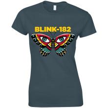 Tričko Butterfly, Žena, Modrá,