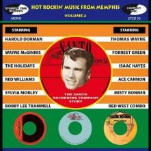 CD V/A - HOT ROCKIN' MUSIC FROM MEMHIS VOL. 2
