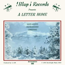 Vinyl A LETTER HOME - HAVE A GOOD OLD FASHIONED CHRISTMAS
