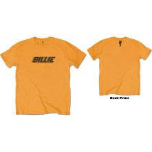 Tričko Racer Logo & Blohsh, Muž, Oranžová,