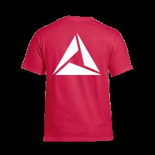 Tričko Logo White print, Muž, Červená,