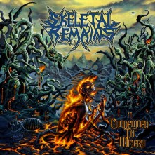 CD SKELETAL REMAINS - Condemned To Misery (Re-issue