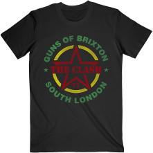 Tričko Guns of Brixton, Unisex, Čierna,