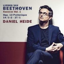 CD HEIDE, DANIEL - BEETHOVEN, SONATAS VOL. 1