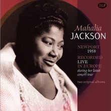 Vinyl JACKSON, MAHALIA - RECORDED LIVE IN EUROPE DURING HER LATEST CONCERT TOUR/COMMAND PERFORMANCE
