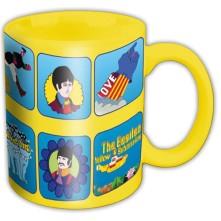 Hrnček Yellow Submarine Characters