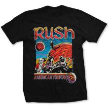 Tričko US Tour 1978, Unisex, Čierna,