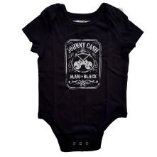 Body Man In Black, Dieťa, Čierna, 0-3 mesiacov