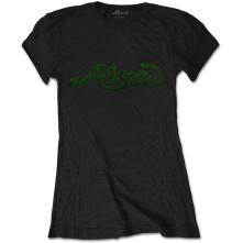 Tričko Vintage Logo, Žena, Čierna,