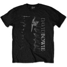 Tričko Distorted, Unisex, Čierna,