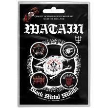 Odznak Black Metal Militia