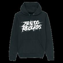Mikina Zrazoo Records, Unisex, Čierna,