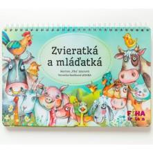 Kniha Zvieratká a mláďatká