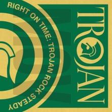Vinyl V/A - RIGHT ON TIME - TROJAN ROCK STEADY
