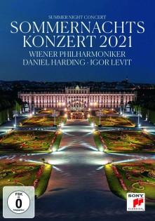 DVD WIENER PHILHARMONIKER/DANIEL HARDING - Sommernachtskonzert 2021 / Sum