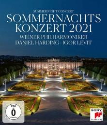 Blu-ray WIENER PHILHARMONIKER/DAN - Sommernachtskonzert 2021 / Sum