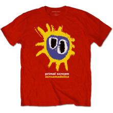 Tričko Screamadelica, Unisex, Červená,