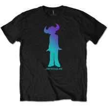 Tričko Buffalo Gradient, Unisex, Čierna,